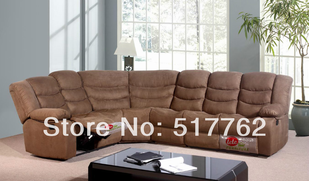 super comfortable reclining sectional sofa super competitive factory price in living room sofas. Black Bedroom Furniture Sets. Home Design Ideas