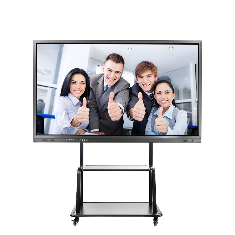 Big size infrarood lcd touch screen smart board, LED interactieve vlakke panelen