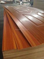 Ash/sapele/teak veneered door skin / molded door skin MDF/plywood