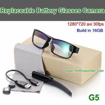 3d05c6b45f High Quality Replaceable Mini Small Hidden Camera Glasses