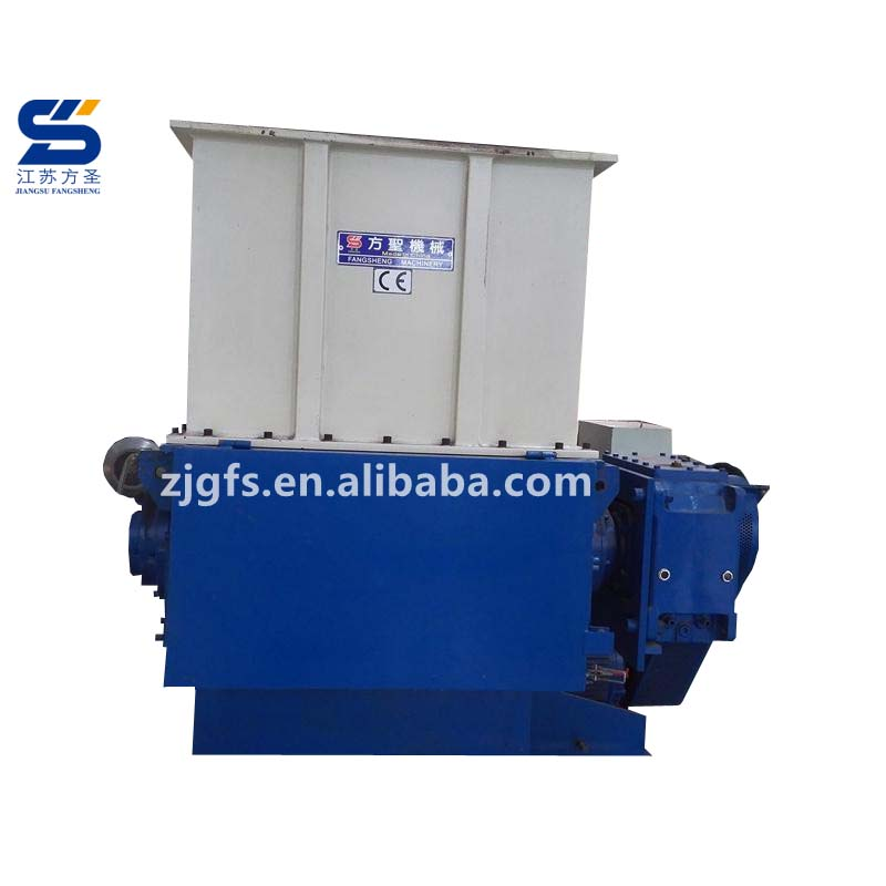 1 enkele as plastic shredder/afval plastic recycle shredder machine