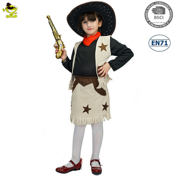 A Newest Kids Fashion Cowgirl Costume Girl Cosplay Clothes Buy New