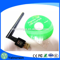 2017 Laptop Long Range Usb Wireless Antenna Usb Wifi Adapter for 2.4g Antenna