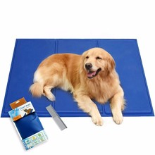 Reusable Pet Cooling Pet Pet Cooling Mat Pet Cooling Pad, Dog Self Cooling Mat Pad, application in Crates and Beds