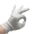 white microfiber cloth jewelry cleaning gloves