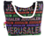 factory sale newest classical national style canvas beach tote bag