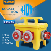 OEM ODM waterproof power socket box electric plug socket portable distribution box