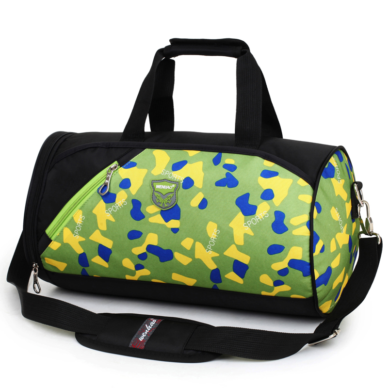 Manufacture Qualified men outdoor sport luggage nylon travel duffel bag