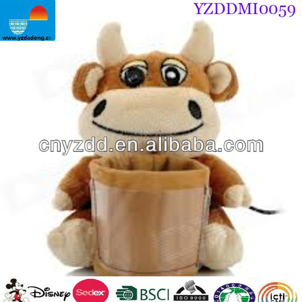 Plush Pen Holder / Plush Toys Pen Holder / Plush Animal Pen Holder