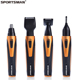 SM-409 SPORTSMAN Electric Nose Hair Trimmer Sideburn/Beard/Ear/Eyebrow Muti function hair Trimmer 4in1