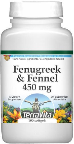 Fenugreek and Fennel Combination - 450 mg (100 capsules, ZIN: 513927)