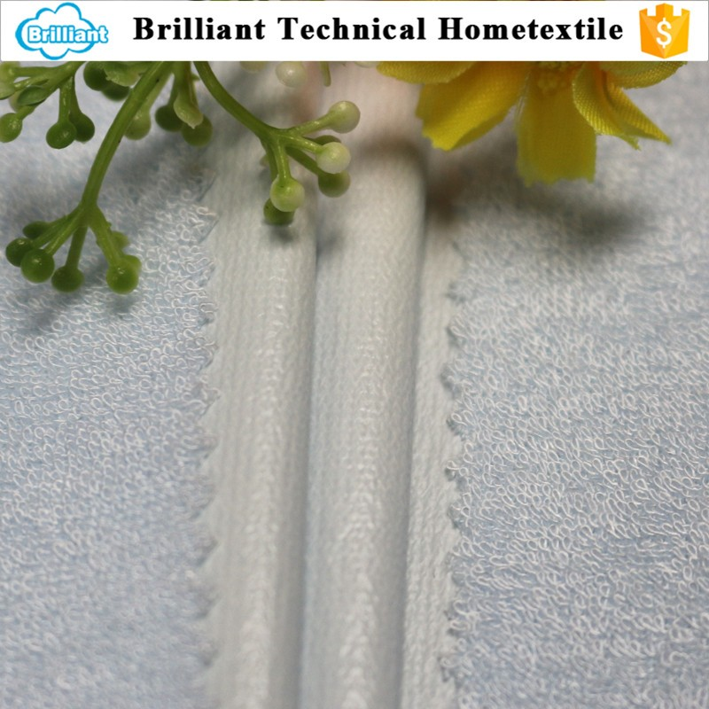 hot selling organic bamboo terry cloth waterproof bed mattress fabric