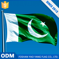 Cheap Prices Custom 100%Polyester 3X5 Banner Flags Pakistan