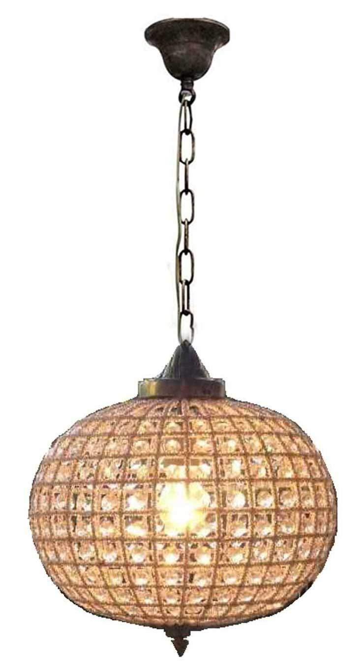 Antique Brass ORE International 1966AB Chandelier