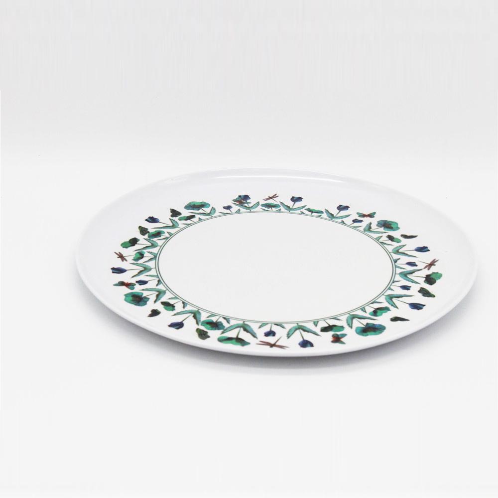 Het plastic het voedsel van het melaminevaatwerk dienen om plaat
