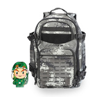 Large camo water resistant molle army tactical backpack for hunting hiking
