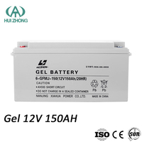 Deep Cycle Rechargeable Gel 12V 150AH battery price