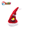 wholesale winter red electric funny christmas santa hat for kids best gift