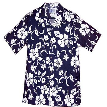 55b834602038c Custom Mens Hawaiian Beach Shirts Hawaiian Shirts Wholesale Polyester Boy Hawaiian  Shirt Design
