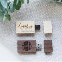 Custom Logo Walnut/Maple Wood USB 2.0 Memory Stick Flash Pen Drive