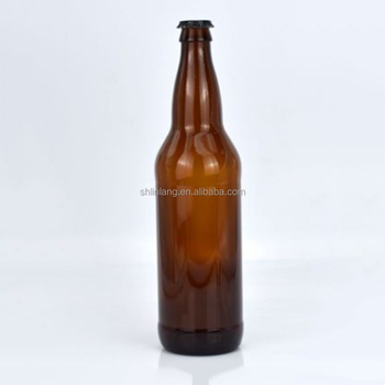 Shanghai Linlang Wholesale 22 Oz 650ml Pry Off Amber Bomber Beer Bottle  Price - Buy Beer Bottle Price,22 Oz Beer Bottles,650ml Beer Bottles Product  on