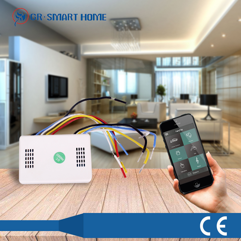 switch module z wave for smart home / building automation 868.42/908.42MHZ , with long timelife