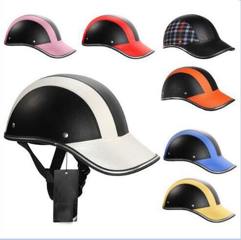 Sicherheit Helm Motorrad Helm Hälfte Helm Sommer Elektrische Auto Männer Frauen Persönlichkeit Baseball Helm Schutz Sicherheit & Schutz