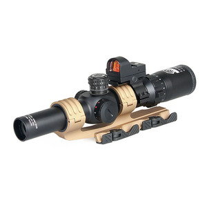 Combination aiming suit rifle scope and red dot scope HK1-0345