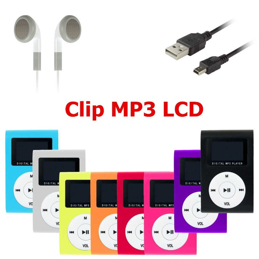 2019 best selling sport Metal Mini Clip usb MP3 music Player