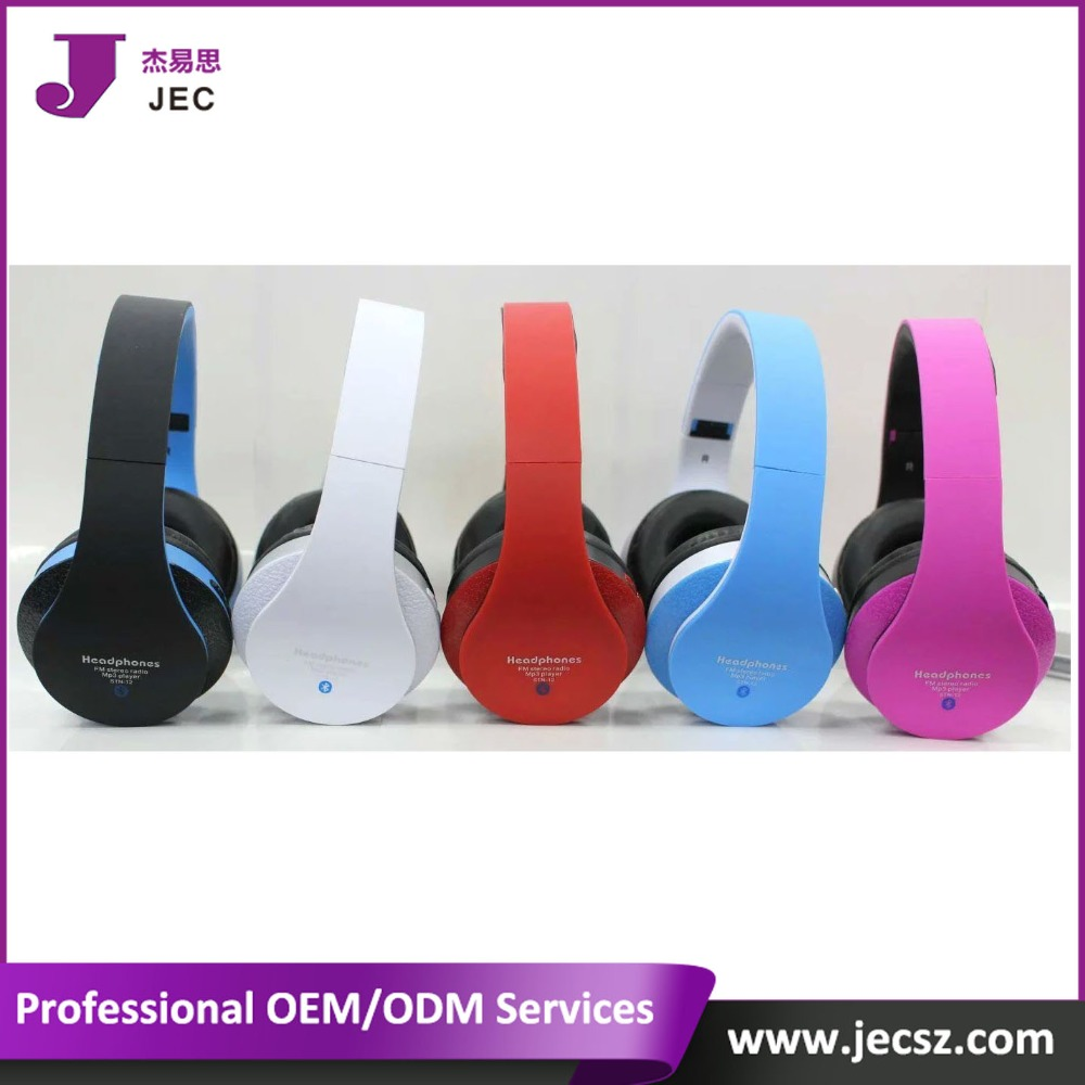 Factory Price Cheap Bluethooth Headphones 100% quality Model(JEC-STN12)