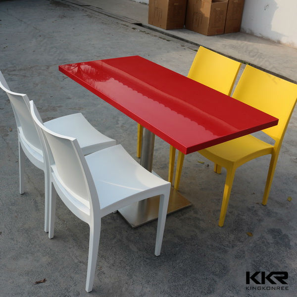 Food Court Tables Price Red