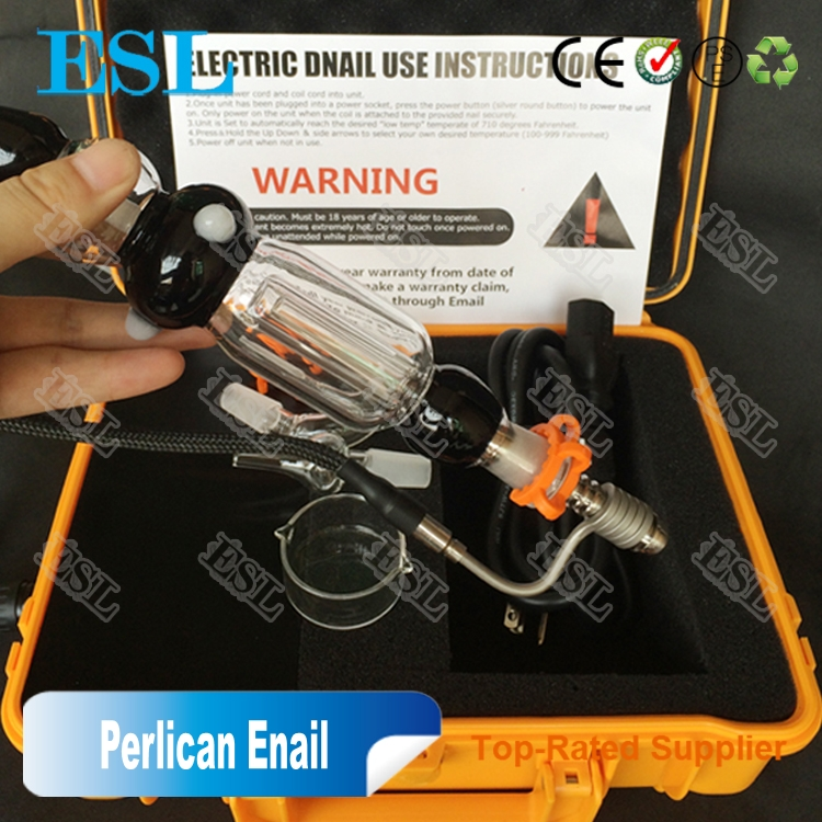2017 three Use dry herb and wax and dabs Enail / E nail for dablife portable enail