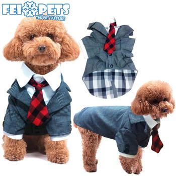 New Arrival Pet Dog Checked Coat Autumn Dog Gentleman Suit For Wedding  Costume - Buy Dog Suit,Pet Autumn Coat,Pet Dog Checked Coat Product on ...