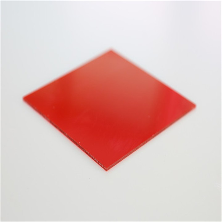 Hot Selling Red Color Acrylic Plastic Sheet