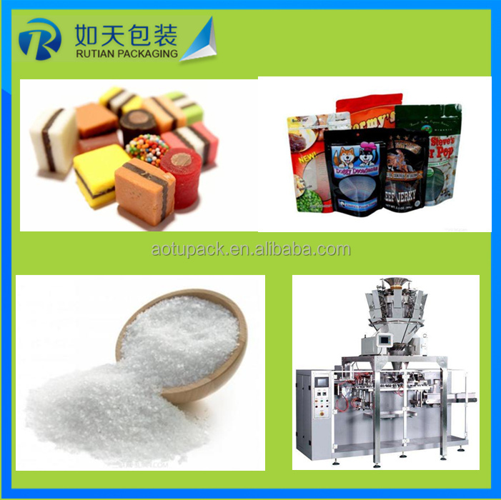 Rice/salt/sugar/spices/seeds/ powder medicine granule packing machine