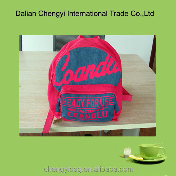 2014 New Fashion Promotional Cute Kids Cheer bag