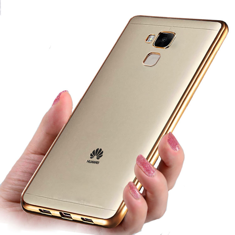 coque honor 5c case plating crystal soft tpu clear thin transparent silicone case for huawei. Black Bedroom Furniture Sets. Home Design Ideas