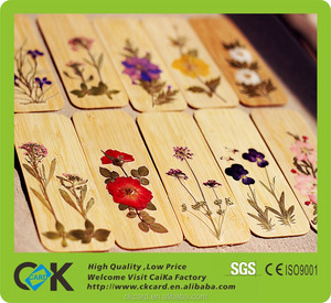High quality! Custom laser engraving wood bookmark/card in promotion