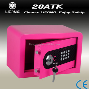 Cheaper colorful fashion digital safety safe box as christmas gift