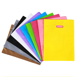 Customized Color Size LDPE Plastic Shopping Die Cut Handle Bag/