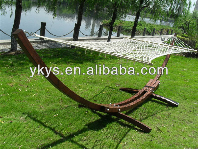 Cypress Wood 3.2m Arc Hammock Stand (five Color)