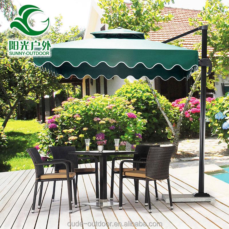 Nuevo dise o de jard n al aire libre paraguas sombrilla for Diseno de muebles de jardin al aire libre