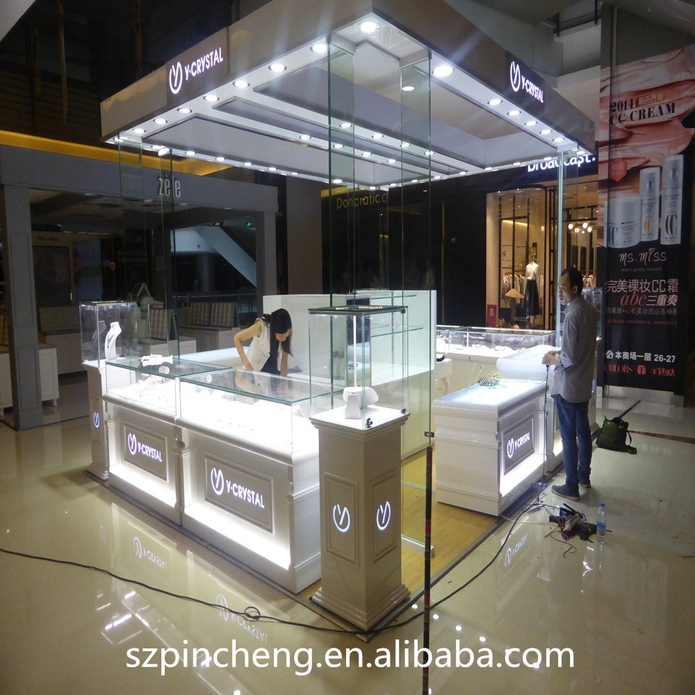 Modern Jewelry Shop Counter Design Retail Store Cash Counters For ...