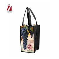 Guangzhou factory Custom Print Eco Friendly Recycled Non Woven Fabric Tote Reusable Small Size Shopping Bags With Logo