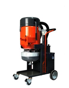 HEPA hazard silica industrial dust extractor