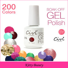 Choose 5 Civi Nail Gel Polish Soak Off UV Gel Nail Polish 30 Days Long