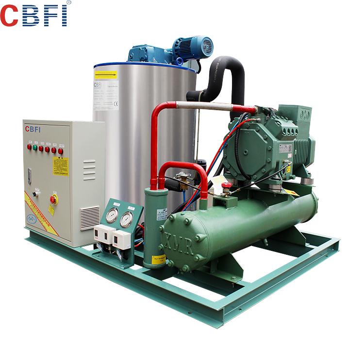 Chinese factory flake ice machine 500kg 5 ton 3t on sale