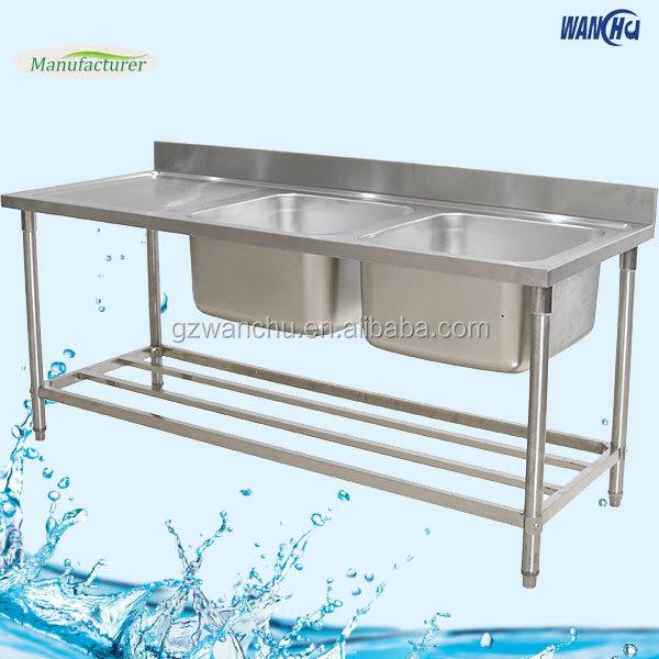 Philippines Stainless Steel Kitchen Sink Bench For Restaurant ...