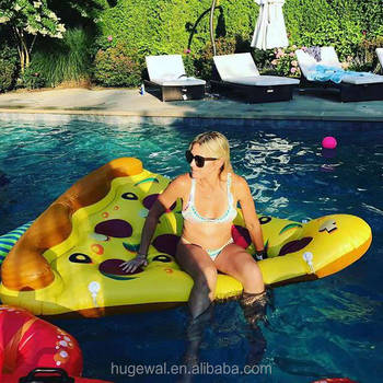 180x135cm summer river floats inflatable pizza pool float