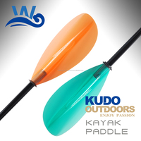 Whynot 4-pieces adjustable clear Kayak Paddle manufacture
